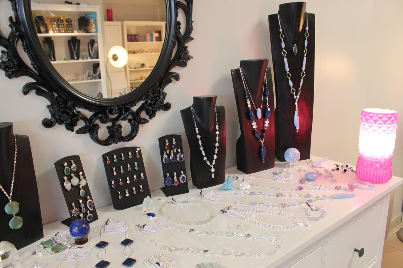 Bijoux aigue-marine, calcédoine, lapis lazuli