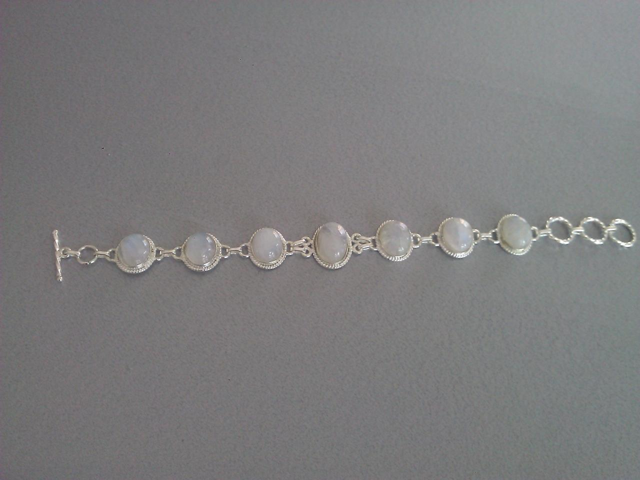 Bracelet pierre de lune bis