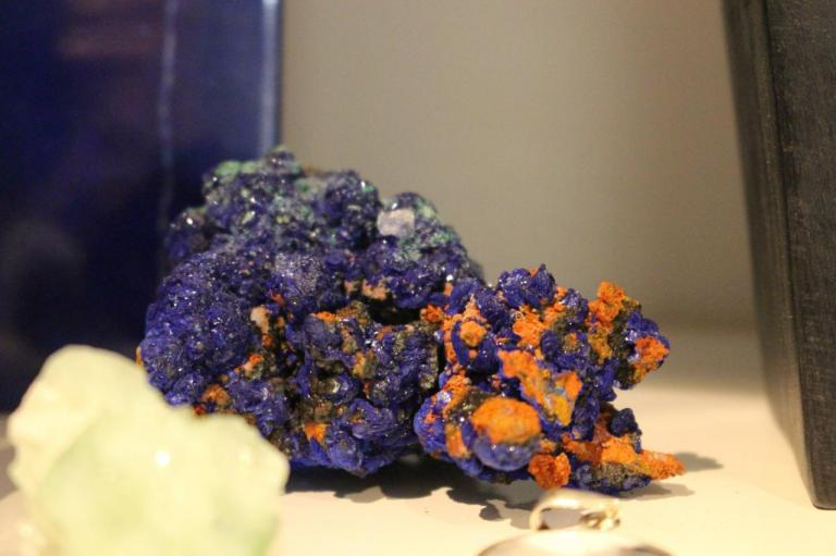 Pierre - azurite malachite