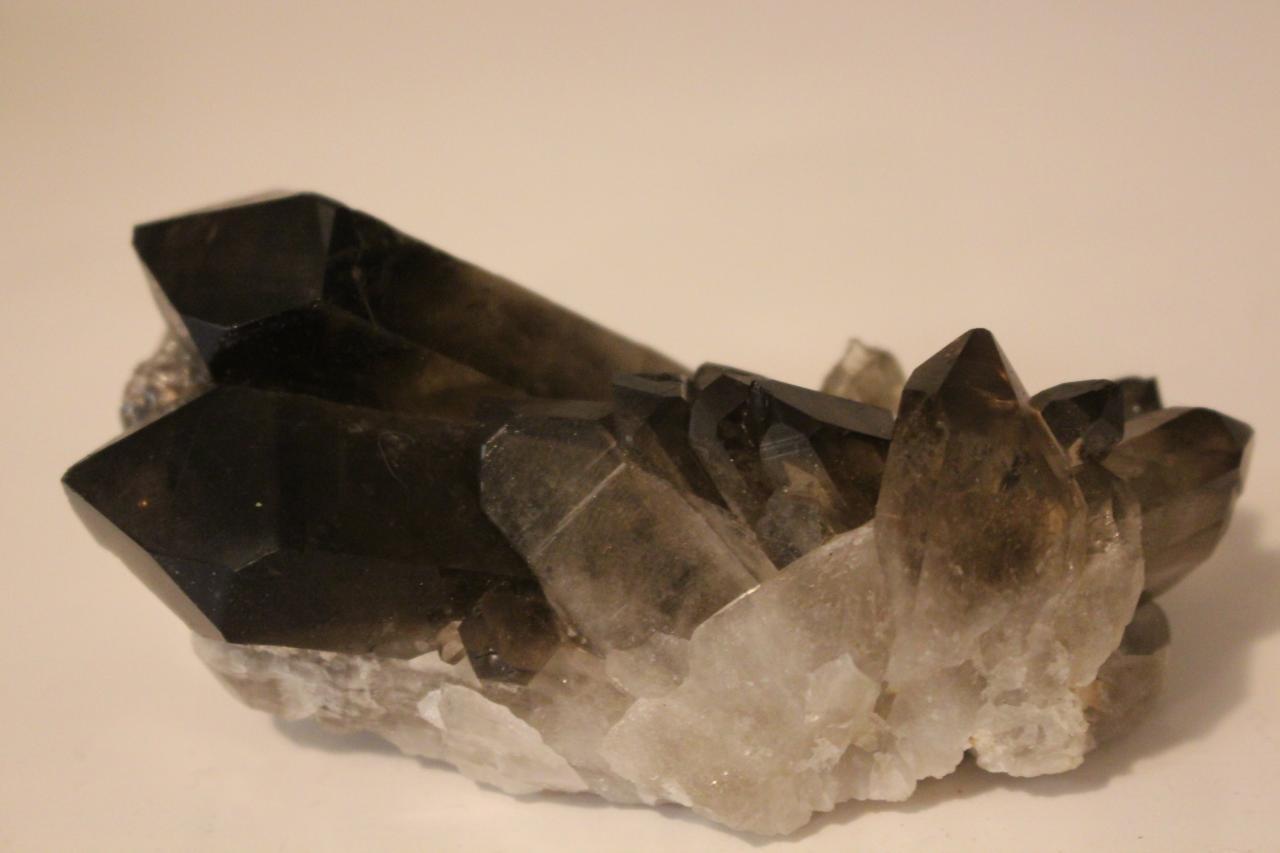 Pierre - druse quartz fumé