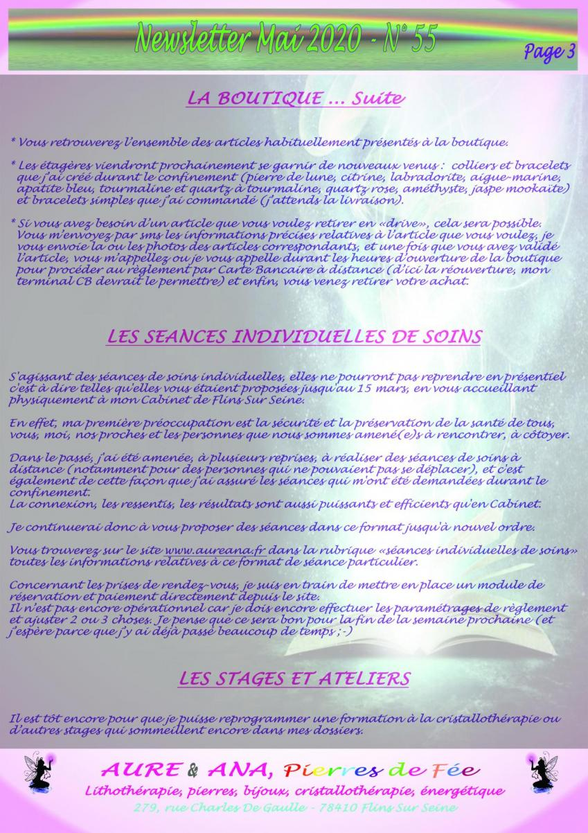 Newsletter 55 mai 2020 page 3